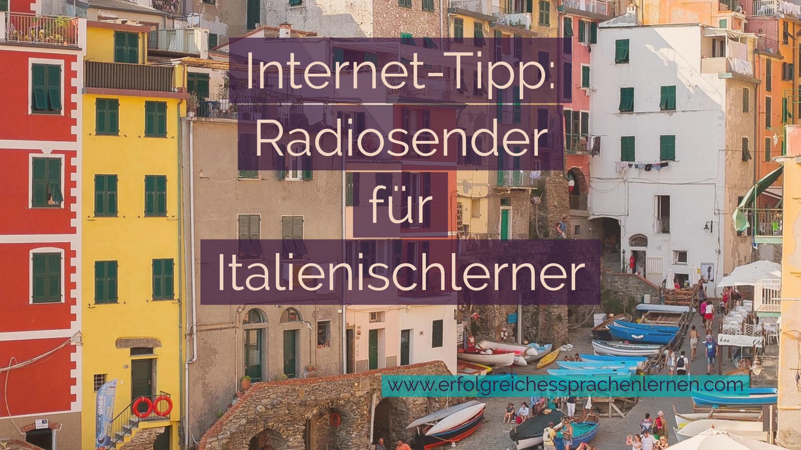 Radio für Italienischlerner