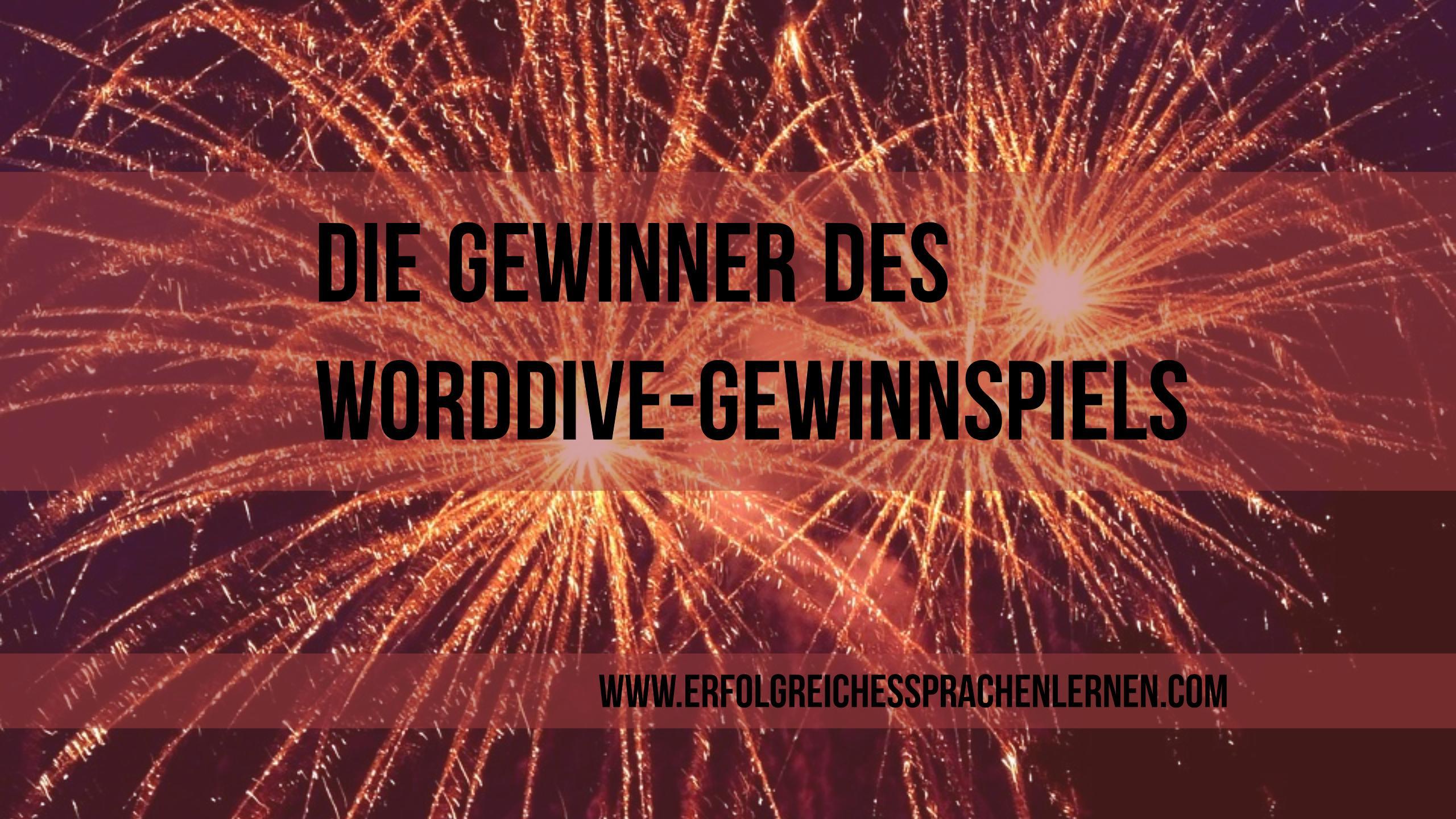 Gewinner WordDive